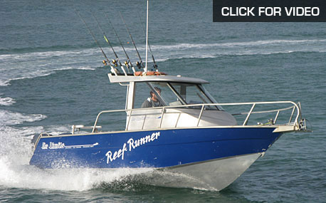 "27 ft ""Reef Runner"" alloy walkaround sportfisher"