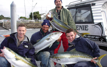Fishing charters in auckland with sea genie fishing charters for Fishing charters auckland